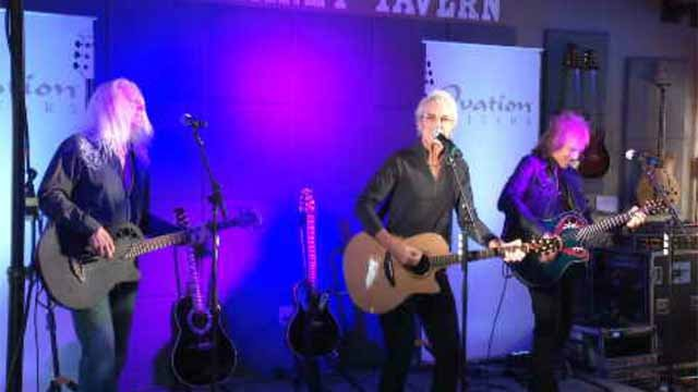 Ovation Guitars Factory reopens with live concert from REO Speedwagon (WFSB)