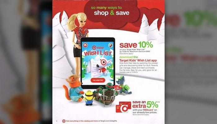 Target toy catalog circulating online (Target)