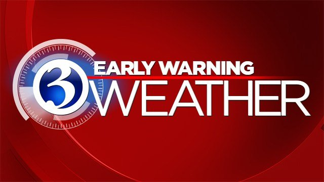 Tuesday was declared an Early Warning Weather Day in preparation for heavy rains on Wednesday. (WFSB Graphic)
