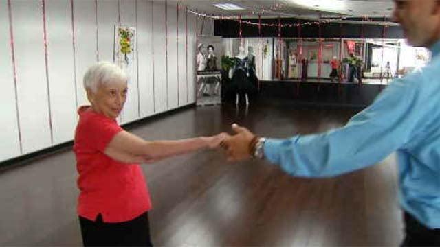 West Hartford woman dances for brain power (WFSB)
