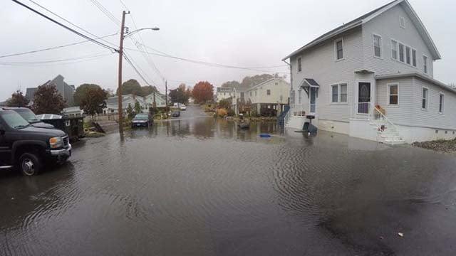 Catherine Street in the Cosy Beach neighborhood of East Haven (WFSB)