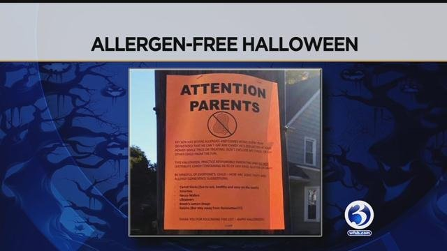 Fliers carry allergy warning in New Britain (WFSB)