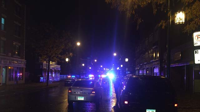 Dozens of crews respond to the scene in Hartford (WFSB)