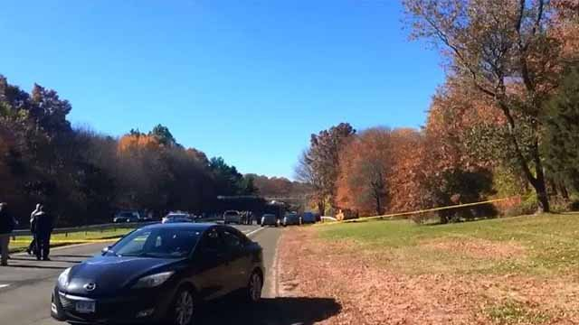 Wilbur Cross Parkway in Woodbridge closed for death investigation (Kat Gloor)
