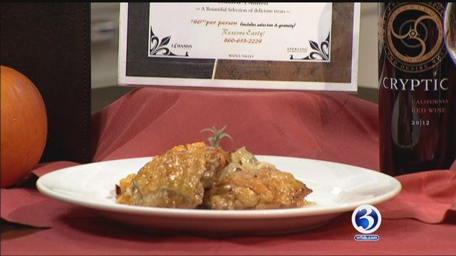 Baci Grill shows us how to make Cider Glazed Chicken with Braised Cabbage and Roasted Butternut Squash (WFSB)