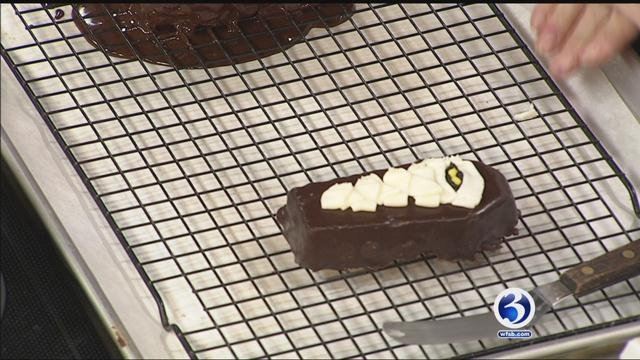 Soleil and Suns Bakery makes flourless chocolate cake. (WFSB)