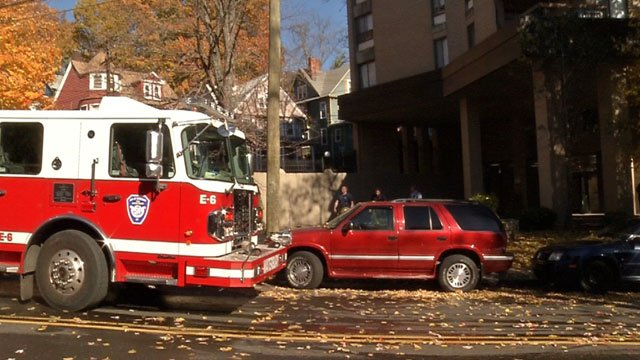 A tenant drying their clothes in an oven could be the cause of a fire at an apartment complex in Waterbury. (WFSB)