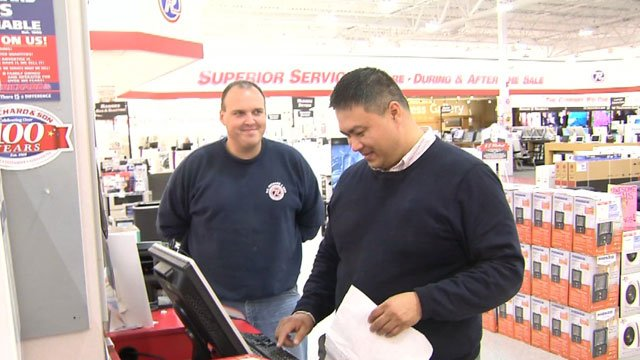 Retailers such as PC Richard & Son are preparing for Black Friday sales. (WFSB)