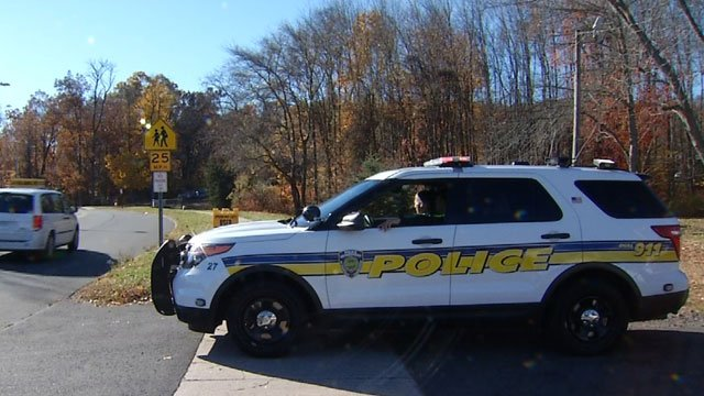 Police are investigating a bomb threat called into the Northwest Village Schoolin Plainville on Tuesday. (WFSB)