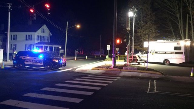 Guilford police are investigating after a woman was struck and killed by an SUV on Tuesday evening. (WFSB)