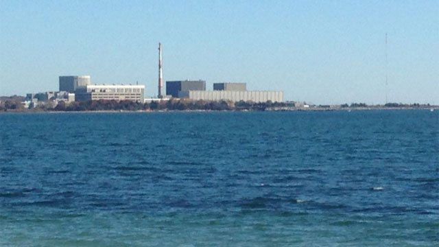 Diesel fire was reported outside external backup generator at Millstone Power Plant. (WFSB)