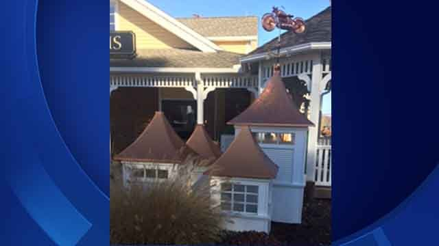 Weathervanes stolen from Kloter Farms in Ellington (State police)