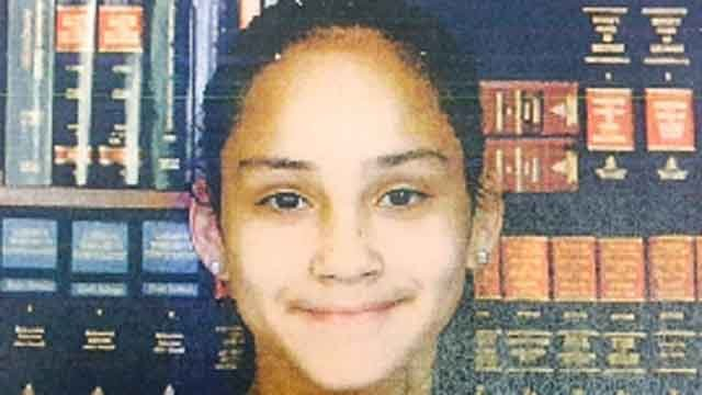 Destiny Santana was last seen in Hartford on Wednesday wearing a blue polo shirt, navy blue pants and tan boots. (State police)