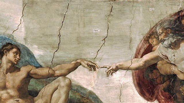 The Creation of Adam by Michelangelo. (Wikicommons photo)
