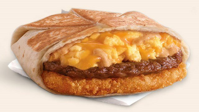 Taco Bell's A.M. Crunchwrap. (Taco Bell photo)