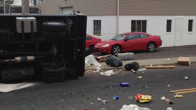One driver was taken to a local hospital where he was treated and released. (WFSB)