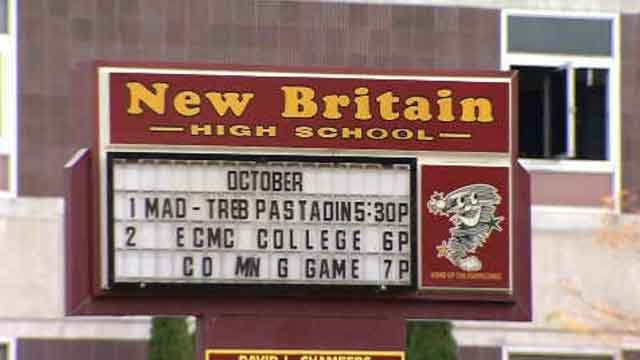 Thefts reported from New Britain High School (WFSB)