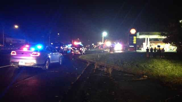 Berlin Turnpike closed after person struck by car (WFSB)