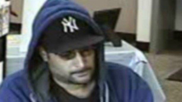 Hartford police released this photo of a possible bank robbery suspect.