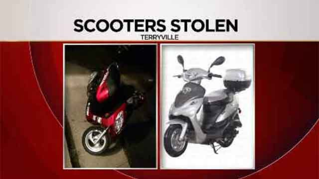 Two scooter's stolen from teen's yard (submitted/WFSB)