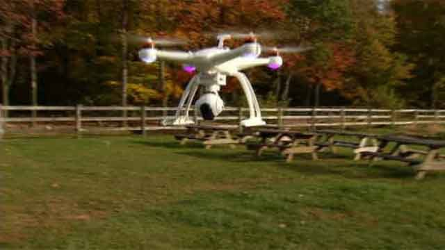 Drones are popping up everywhere, and as the holidays are approaching, shoppers may be considering picking one up for a gift. (WFSB)