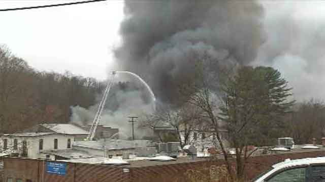 Crews respond to manufacturing company fire in Glastonbury (WFSB)