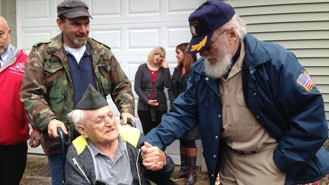 United States Army Veteran Lou Russo got to go home on Wednesday. (WFSB)
