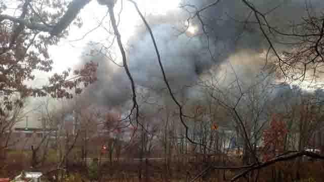 Glastonbury business destroyed by massive fire (WFSB)