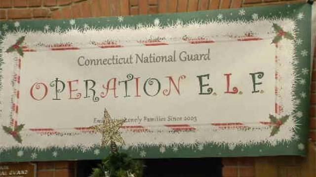 Operation Elf is in full swing for holiday donations (WFSB)