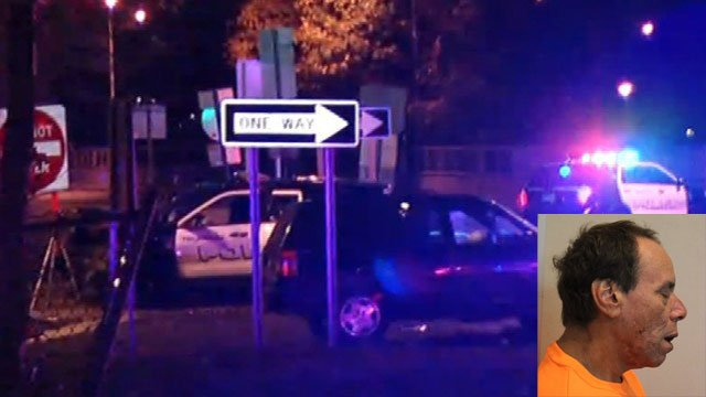 Jose Rey was arrested after his vehicle crash into a police SUV injuring two officers. (WFSB/Trumbull Police Department)