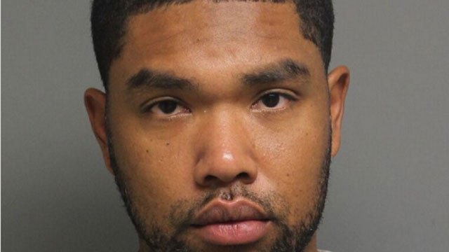 Rickardo Rhoden was charged with breach of peach, public indeceny and trespassing. (Bridgeport Police Department)
