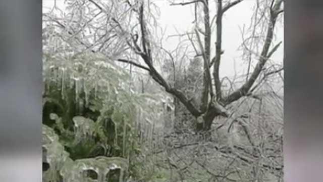 Bruce recalls ice storm of November 2002 (WFSB)