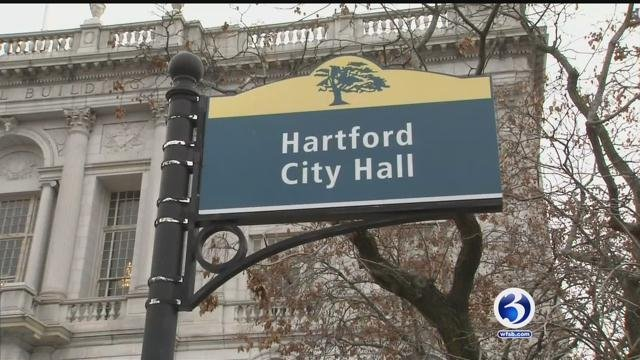 Hartford's bond rating was lowered again. (WFSB file photo)