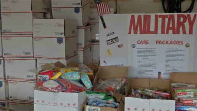 Care package drive for soldiers underway in Berlin (WFSB)