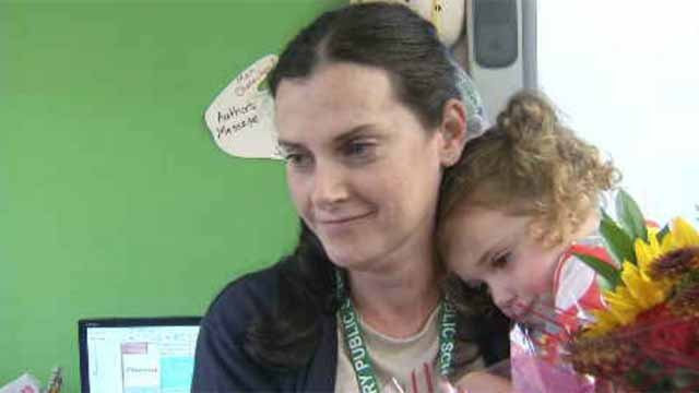 Cancer survivor given opportunity to smile again (WFSB)