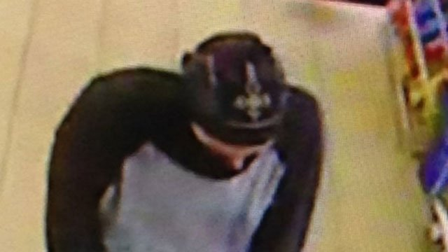 Police released this photo of the suspect in the Vernon armed robbery. (Vernon Police Department)
