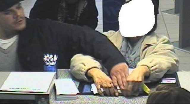 Rocky Hill police are searching for a man accused of a bank robbery on Thursday afternoon. (Rocky Hill police)