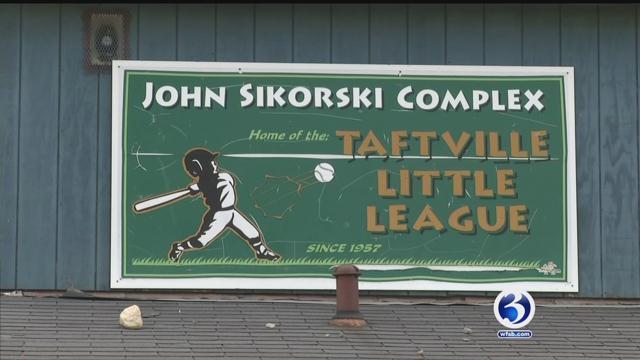 Taftville little league field in need of renovations (WFSB)
