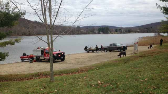 Emergency crews have responded to Lake Waramaug in Kent for the report of a person missing in the water. (WFSB)