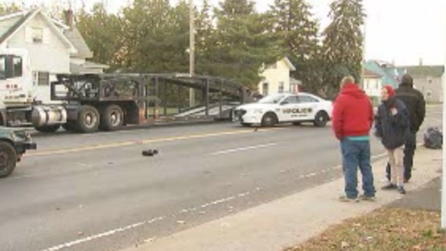 Police are investigating after two pedestrians were struck by a vehicle in East Haven. (WFSB)