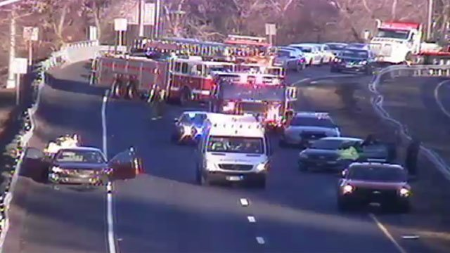 Crash Causes Traffic Delays On Route 2 Westbound In East