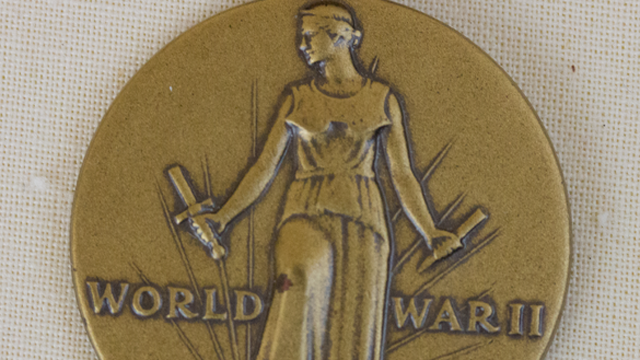 The World War II Victory Medal. (Wikicommons photo)