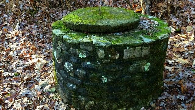 Rock Spring encased in stone
