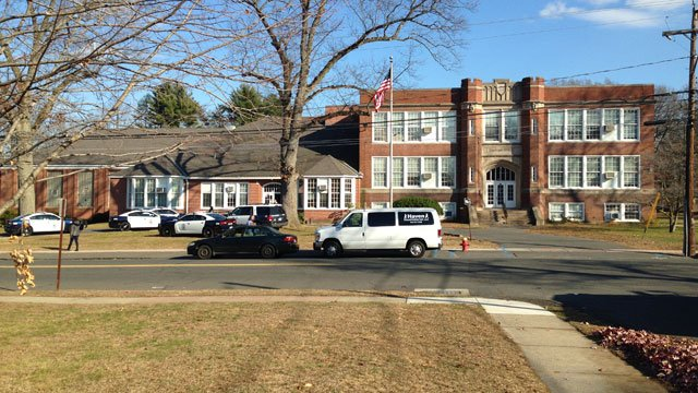A lockdown was reported at Woodland School. (WFSB)
