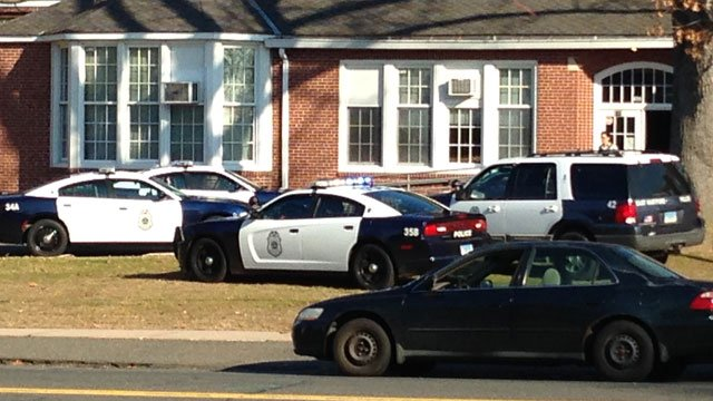 Several fights are believed to be the cause of the lockdown at Woodland School, sources said. (WFSB)