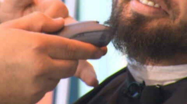 No Shave November has men everywhere sporting facial hair in the name of health awareness. (WFSB)