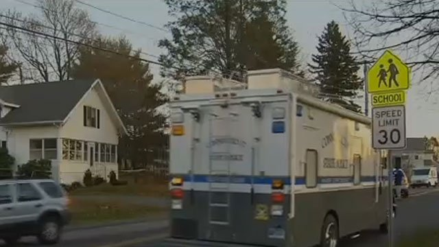 Russell Burtchell was found dead at a home on Oak Street in Glastonbury. (WFSB)