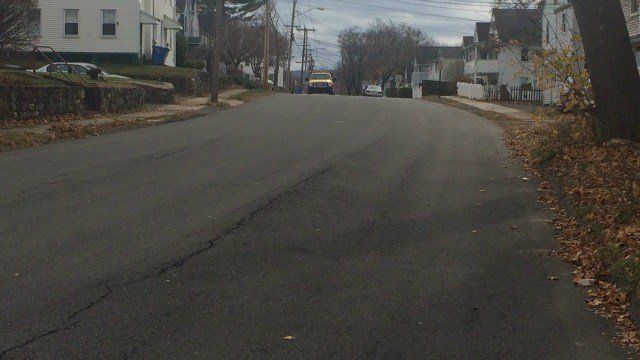 Police are searching for two men responsible for assaulting two people and stealing their car in Bristol. (WFSB)