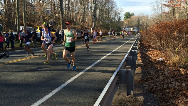 Runners participate in 79th annual Manchester Road Race. (WFSB)