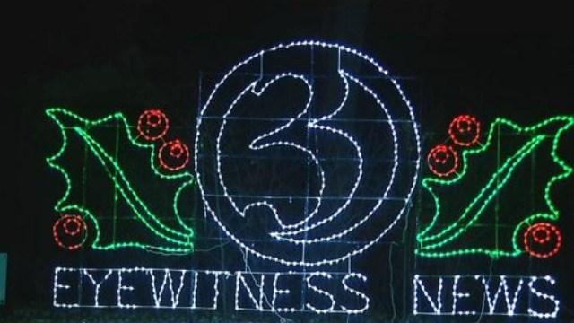 Holiday Light Fantasia opened on Thanksgiving. (WFSB)